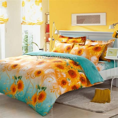 sunflowers luxury bedding and bedding on pinterest