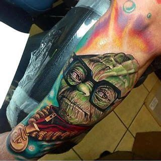 awesome tattoo by roman abrego realismo pinterest