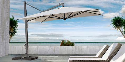 ombrelloni decentrati da giardino alluminio galileo maxi 4x4 ombrellone con chiusura