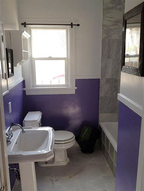 low cost bathroom remodel ideas guest project a barney budget bathroom update jen nelson