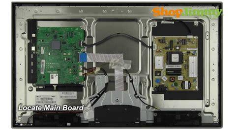 samsung tv repair tutorial replacing main board