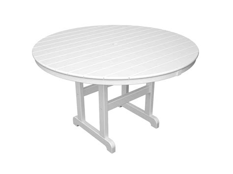 Home Design Luxury White Garden Table Plastic Patio And
