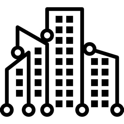 symbols, Technological, technology, Cities, city, tech