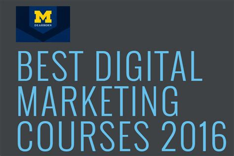 Digital Marketing Degree Course by Best Digital Marketing Programs In Michigan Digital