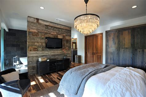 Mud Room Layout by Rustic Glamour Rustic Bedroom Los Angeles By Jrp