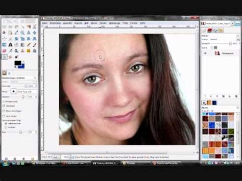 gimp tutorial mac deutsch gimp tutorial deutsch hautbild verbessern youtube