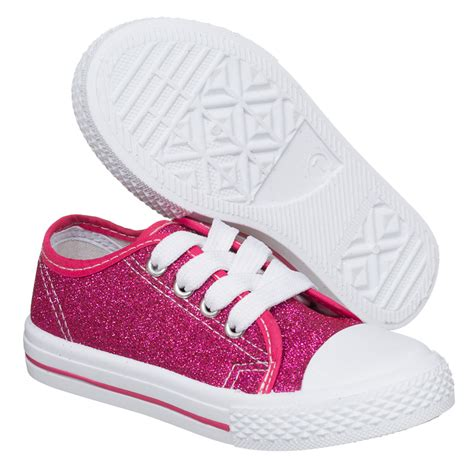 toddler glitter shoes b m gt toddler glitter canvas shoes pink 2893291