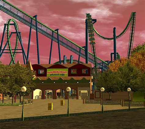 theme park review hucklebuckle heights rct3 theme park review