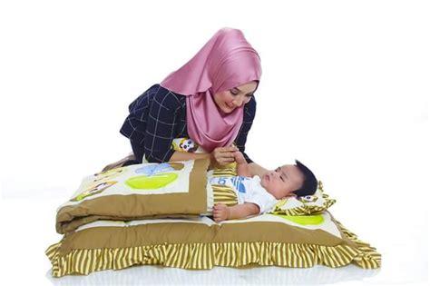 Baby Comforter Selimut Bayi Anak set tilam bayi 100 kekabu anti hama kulat bakteria