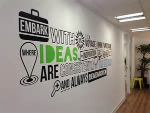 Wall Murals For Office branded office wall mural on behance