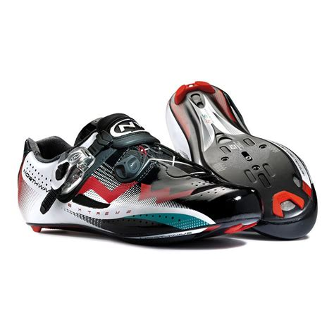 northwave bike shoes northwave tech sbs road cycling shoes black white