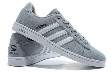 adidas originals cus neo canvas casual shoes gray white specials casual adidas