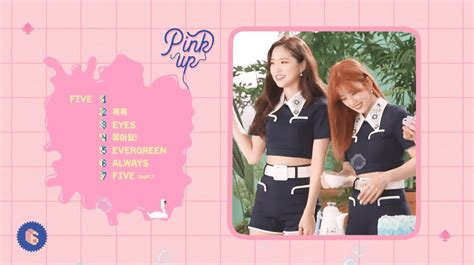 Apink Album Pink Up Blue Ver apink reveal sweet highlight medley for upcoming