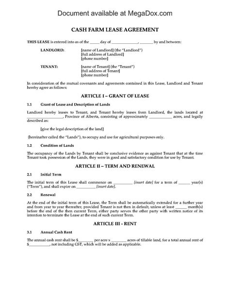 farm rental agreement template farm rental agreement template sletemplatess