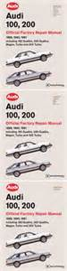 automotive repair manual 1989 audi 200 electronic toll front cover audi repair manual audi 100 200 1989 1991