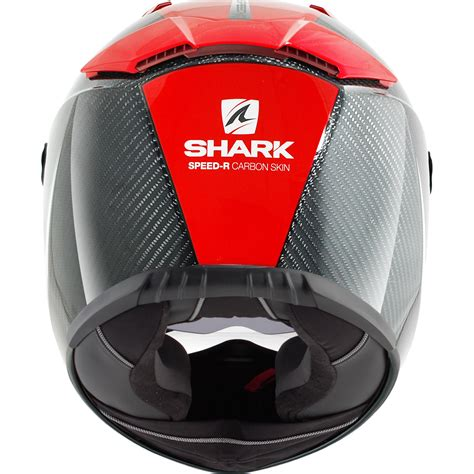 Shark Speed R Carbon Fibre Skin Internal Sun Visor Full