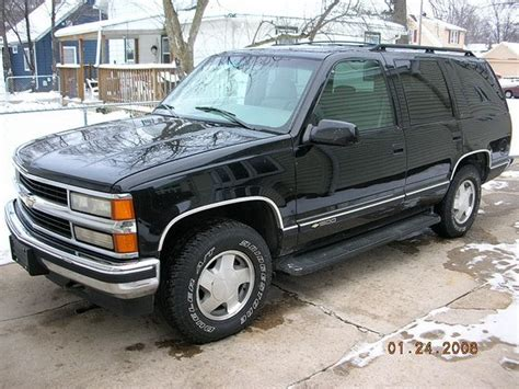 1996 Chevrolet Tahoe Pwrtrip75 S Profile In Janesville Wi Cardomain