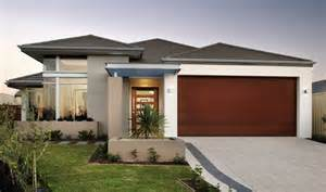 Narrow Lot House Plans With Front Garage by The Bacall Single Storey Designs Broadway Homes