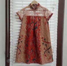 Batik Atasan Wanita Blouse Muslim Hilda Batik Puff Batik Parang Dress Batik Kebaya