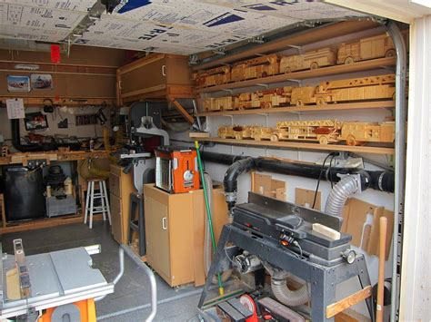 garage shop designs wood working garage six finger firemen woodworking wood