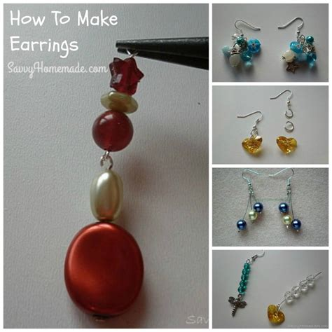 How To Make Handmade Jewellery - discover how to make earrings inexpensively