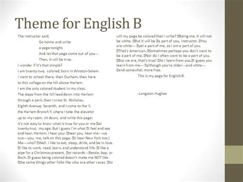 themes for english b poetry american literature ppt download