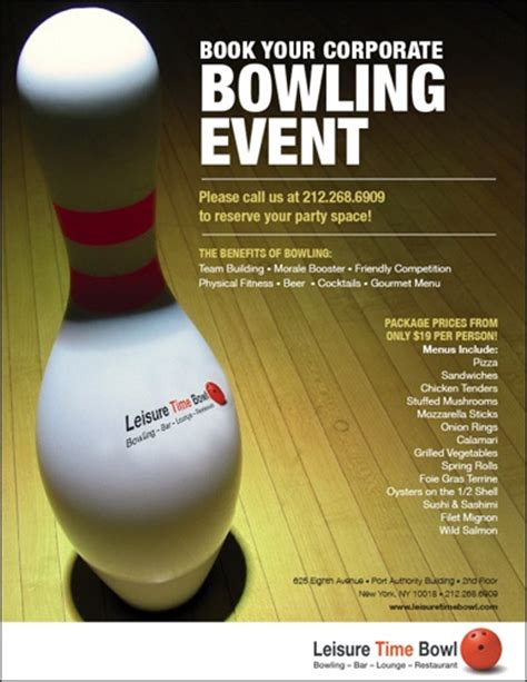 bowling flyers templates free bowling flyer for school