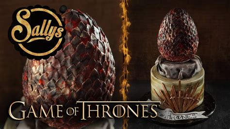 thrones kuchen of thrones torte 3 d drachenei of dragons