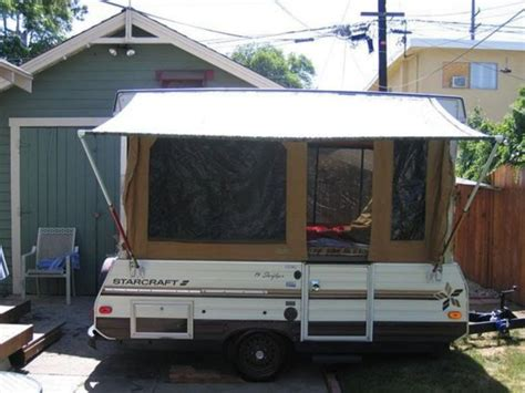 how to put an awning up diy pop up cer awning fres hoom