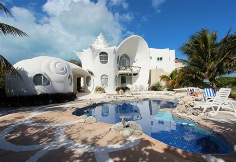 shell house isla mujeres airbnb la maison coquillage mj media