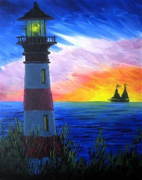 paint nite cincinnati 1000 ideas about lighthouse drawing on