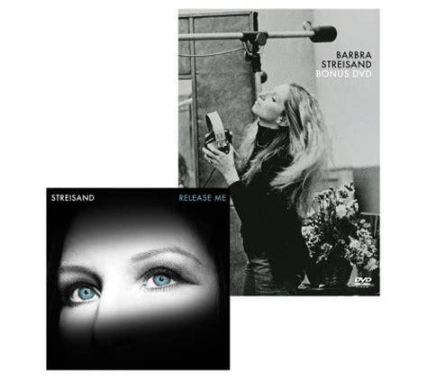 barbra streisand release me barbra streisand quot release me quot 11 track cd and bonus dvd