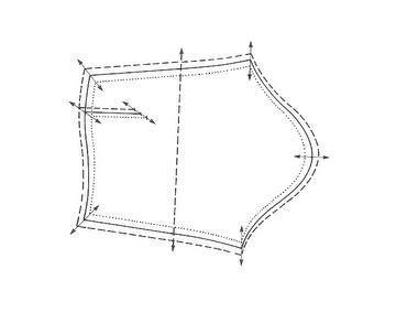 pattern grading sleeves radial grading fashion incubator