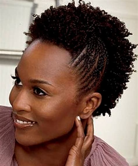 Plaited Hairstyles For Black Women | natural hairstyles for african american women and girls