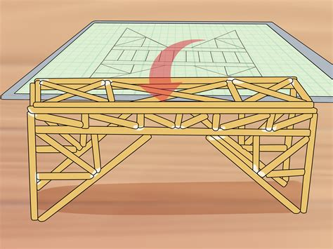 how to make a wooden bridge 3 ways to build a balsa wood bridge wikihow