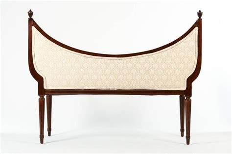 antique settees for sale antique french scoop back settee for sale at 1stdibs
