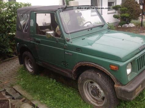 how does cars work 1985 suzuki sj free book repair manuals 1985 suzuki sj 410 car hobbyist or for spare parts car photo and specs