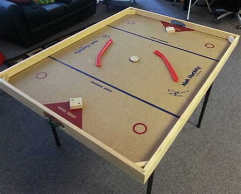 Nok Hockey Table by Nok Hockey Dallas Carnival Rentals Photo Buttons