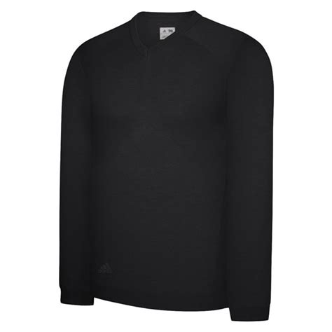 Sweater Black Addidas Basic adidas mens performance basic v neck sweater 2013 golfonline