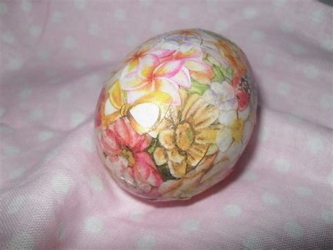 Decoupage Eggs - decoupage egg 183 how to make a decorative egg 183 decoupage