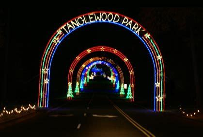 tanglewood lights houston the tanglewood park festival of lights in clemmons nc