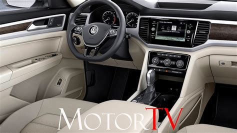 volkswagen atlas interior suv 2017 volkswagen atlas l interior youtube