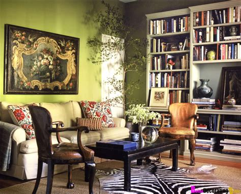 living room library 10 stunning boho chic living room interior design ideas