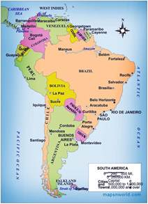 south americas map political map of south america free printable maps