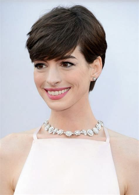 channel hair cut channel your inner anne hathaway with this pixie cut