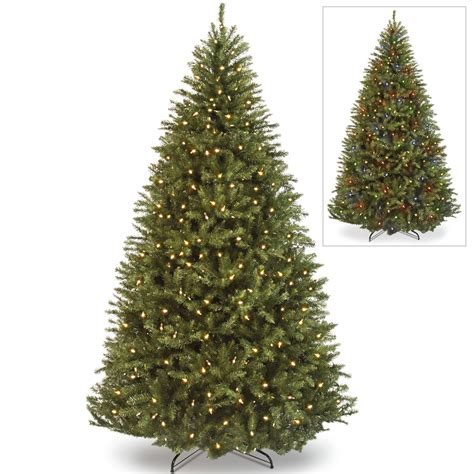 dual light tree 7 5 powerconnect kingswood fir tree with dual color led