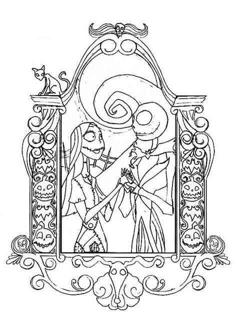 114 B 228 Sta Bilderna Om Coloring Geek Anime P 229 Pinterest Nightmare Before Coloring Pages For Adults