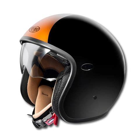 Helm Premier premier jet helm vintage orange im thunderbike shop