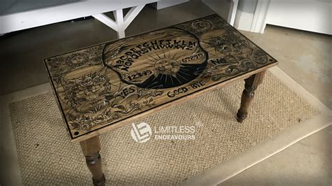 ouija board coffee table ouija coffee table by limitlessendeavours on deviantart