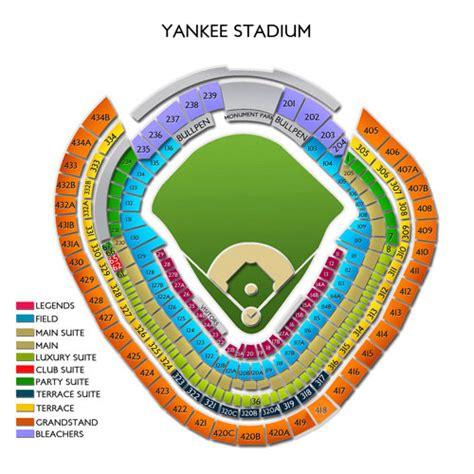 yankee stadium seating diagram yankee stadium tickets yankee stadium information